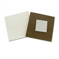 Imán de madera cuadrado personalizable 01