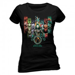 Aquaman Movie Camiseta Chica Unite The Kingdoms