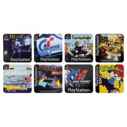 Pack de 8 Posavasos Game Cover de PlayStation