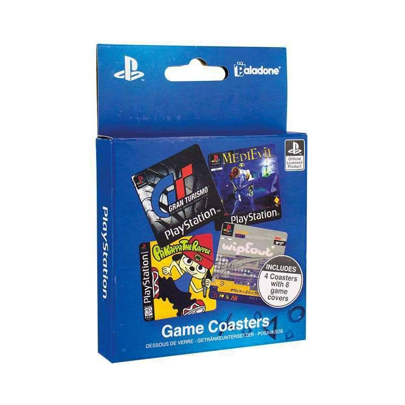 PlayStation Pack de 8 Posavasos Game Cover