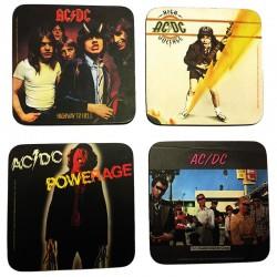 Posavasos caratulas AC/DC