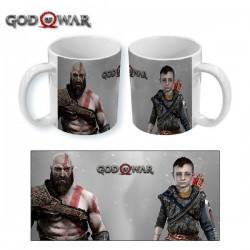 Taza personajes god of war...