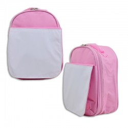 Bolsa rosa para almuerzo personalizable