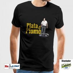 Plata ó Plomo Camiseta para hombre