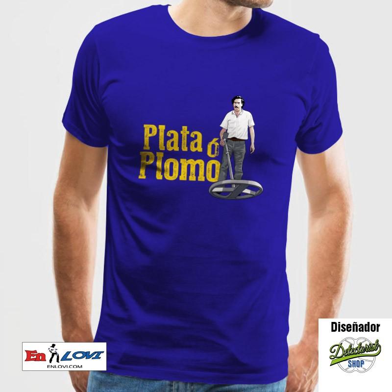 Plata ó Plomo Camiseta para hombre royal