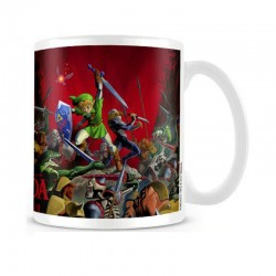 Legend of Zelda Taza sensitiva al calor Battle