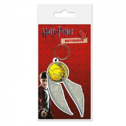 Llavero caucho Snitch 6 cm - Harry Potter