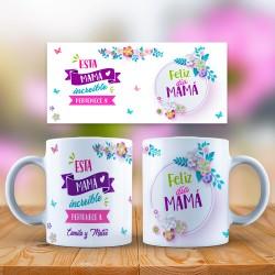 Taza personalizada Madre...
