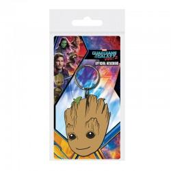 Guardianes de la Galaxia Vol. 2 Llavero caucho Baby Groot 6 cm