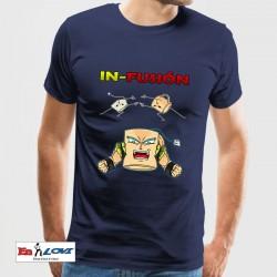 Camiseta para hombre In-Fusión color denim