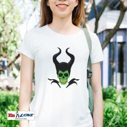 Camiseta calavera malefica