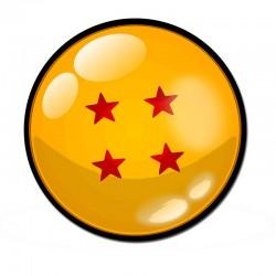 Alfombrilla de ratón - Bola de cuatro estrellas