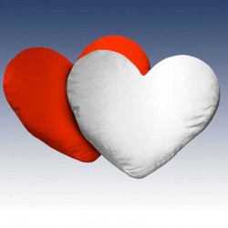 Cojín corazón personalizable