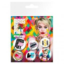 Set chapas Birds of Prey DC Comics