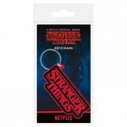 Llavero rubber Logo Stranger Things