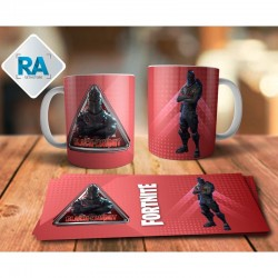 Taza Black Knight Fortnite realidad aumentada