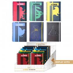 Cuadernos A5 Harry Potter