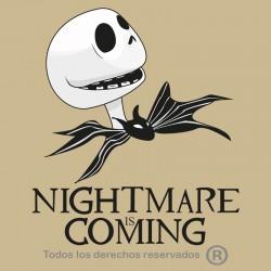 Camiseta Nightmare is coming