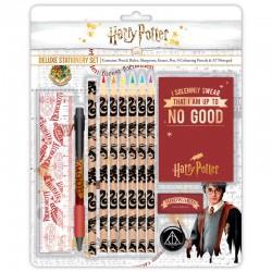 Set papeleria deluxe Harry Potter Hogwarts