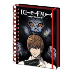 Cuaderno espiral Death Note Shadow