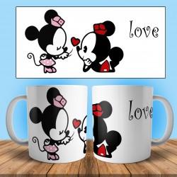 Taza enamorados  love