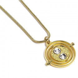 Harry Potter Collar con Colgante Fixed Time Turner (dorado)