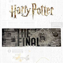 Harry Potter Réplica Quidditch World Cup Ticket Edición Limitada (plateado)
