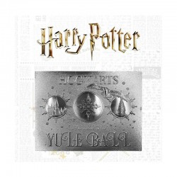 Harry Potter Réplica Yule Ball Ticket Limited Edition (plateado)
