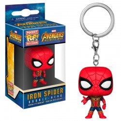 Llavero Pocket POP Marvel Avengers Infinity War Iron Spider