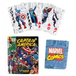 Baraja cartas Marvel